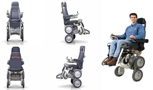 Sedie A Rotelle Per Scale : Sedia a rotelle per disabili innovativa toyota ibot scale per