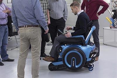 Sedia a rotelle con montascale a cingoli Scewo » Scale per