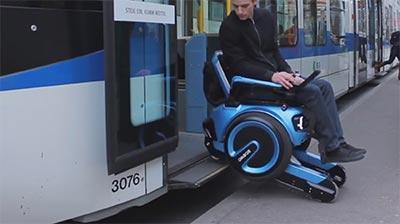 Sedia A Rotelle Con Montascale A Cingoli Scewo Scale Per Disabili