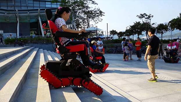 Sedia a rotelle per disabili B-Free Chair