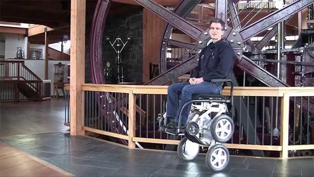 Deka IBot, sedia per disabili per salire le scale