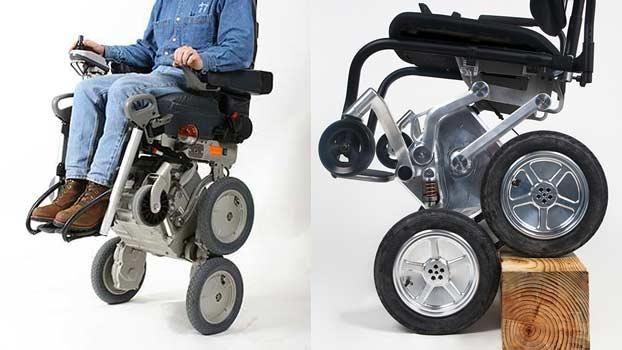Deka ibot la sedia a rotelle per disabili che sale le for Sedia motorizzata per scale